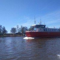 Ferry in Fredrikstad: For free! 💜