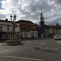 The lovely village square