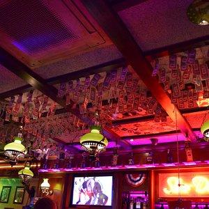 dollars above the bar