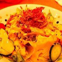 Babela salad with tuna