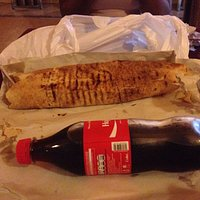 Large shawarma is enormous!