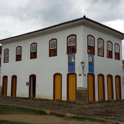 O belo Casarão do Centro Cultural Sesc, de Paraty