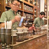 Coffee Master Preparing Drip Coffee
