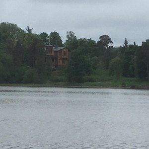 Villa seen fromHerttoniemenranta