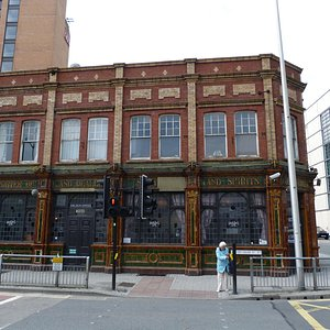 The Golden Cross, Cardiff. The name is hard to spot, find John Lewis first.