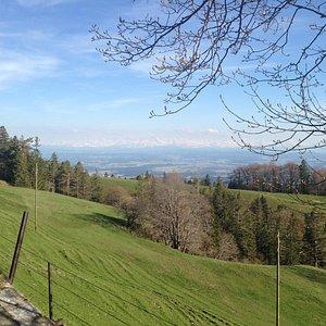 View on Planetenweg