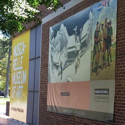 Muscarelle Museum Williamsburg VA