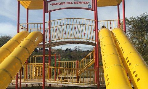 Muy buen parque junto al estadio Kempes. Es ideal para ir en familia o con amigos a pasar un bue