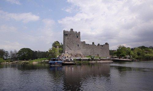 El castillo desde el lago