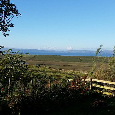 The view from the door...gorgeous! And you can have a BBQ just here!