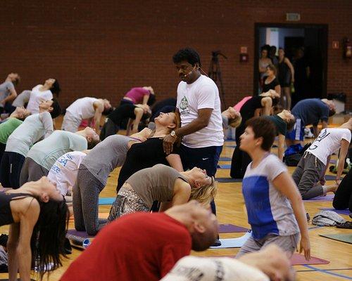 Cyril Yogi class International Day of Yoga 2015 in Poland