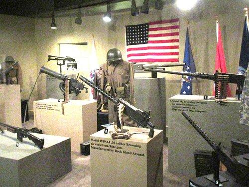 John M. Browing Firearms Museum, Ogden, Utah