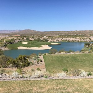 This place could host a PGA TOUR event.  The course is flawless, challenging, unique and truly a