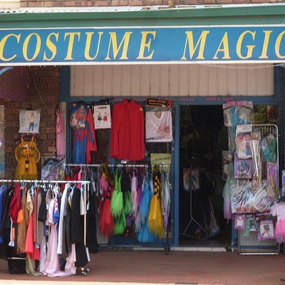 Lots of choices of costumes to hire or buy