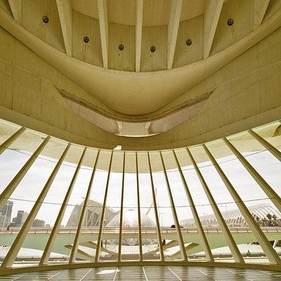 Impression of the Opera at Valencia from the inside, overlooking CAC