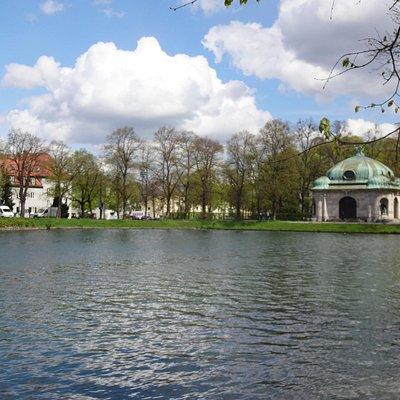 Canal e Hubertusbrunnen