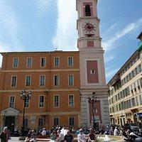 Tour de l'Horloge, Nice (Alpes-Maritimes, Provence, Alpes-Côte d'Azur), France.
