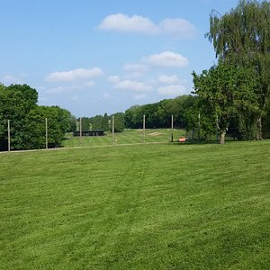 View from the 8th fairway to the driving range