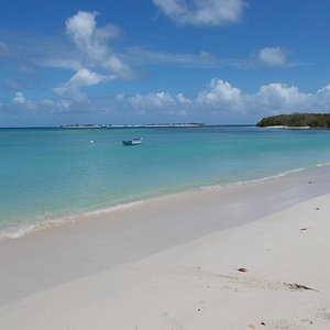 A view of Sandy Island