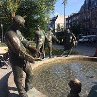 Estátuas da Fonte
