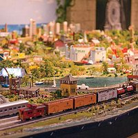 Shell Point Retirement Community's massive model train display features several running trains a