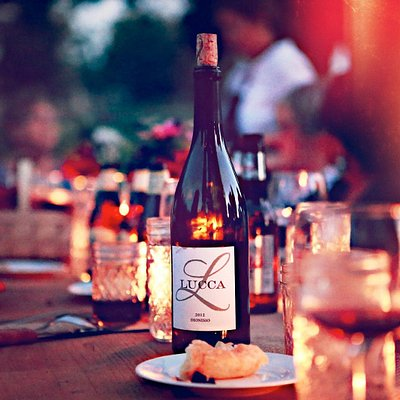 A food and wine pairing even, featuring Lucca Wine.