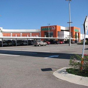 Mega parking lot