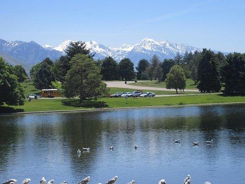 Lake, Sugar House Park, Salt Lake City, Utah