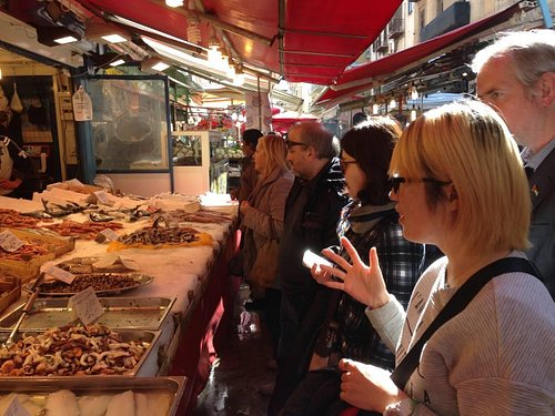 "Fish in ""Ballarò"" Market!"