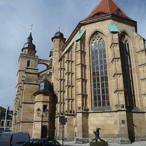 Stadtkirche, größte Kirche Bayreuths
