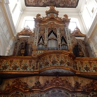 The beautiful organ gallery of San Pietro