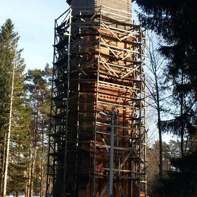 Водонапорная башня в Халила