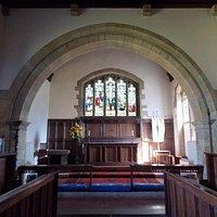 St. Mary's Church, Goathland: interior