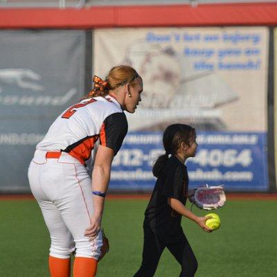 chicago bandits pregame. The Ballpark at Rosemont.