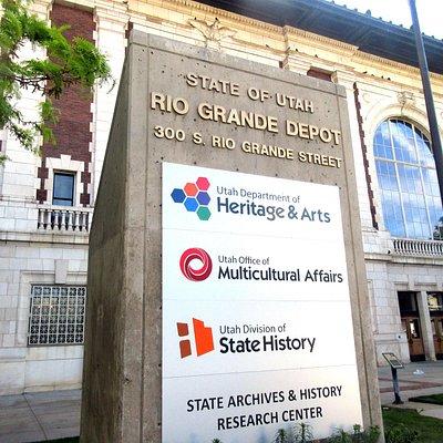Utah State Historical Society, Rio Grande Depot, Salt Lake City, Utah