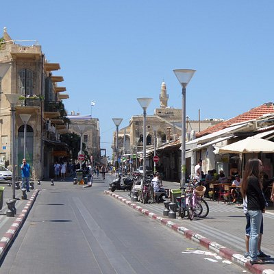 One of the market streets