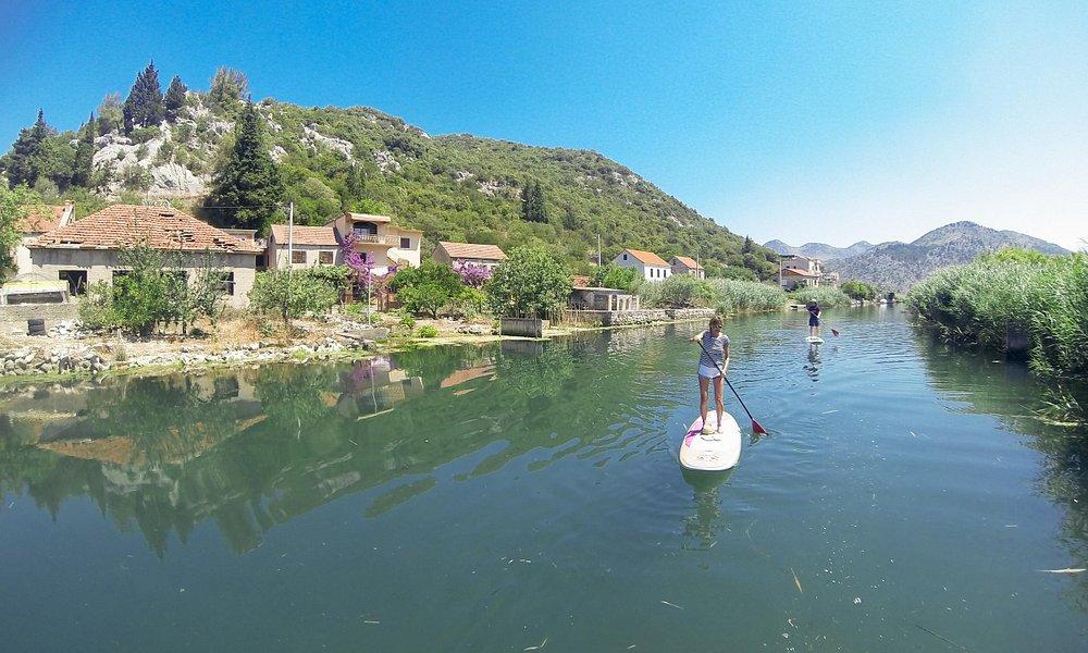 Neretva river standup paddle tour