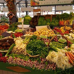 halles de Pornichet, le marché de quatre saisons