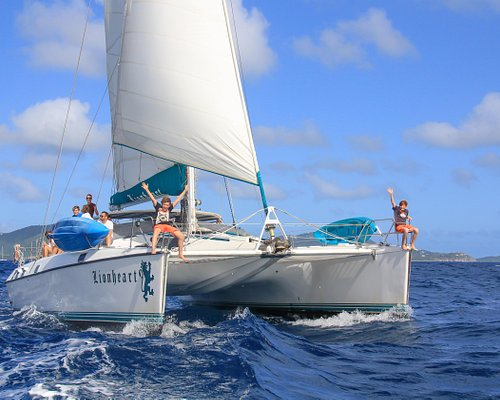 A beautiful day of sailing with Aristocat Charters