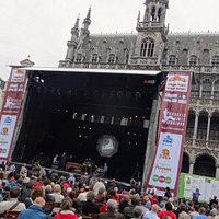 Brussels Jazz Marathon 2016 : la scène sur la Grand Place