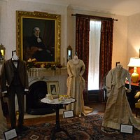 Clothing from the Garrett and Phelps families