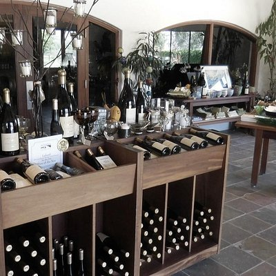 """Lafond's """"Gift Shop"""" area of their Tasting Room"""