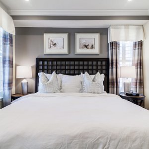 Luxury bedding dressed with the finest linens