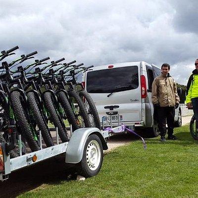 livraison des vélos