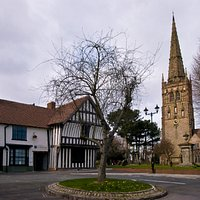 Saint Nicolas Place as seen from Kings Norton Green.