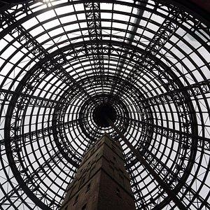 Fantastic skylight at Melbourne Central