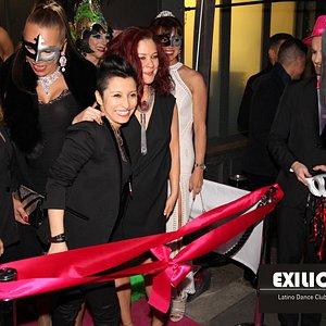 Opening night of Exilio in Soho