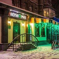 "Kharkiv's ""Irish pub"" in winter"