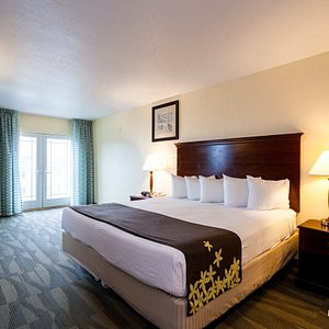 The 1 King Bed at the Gold Leaf Hotel