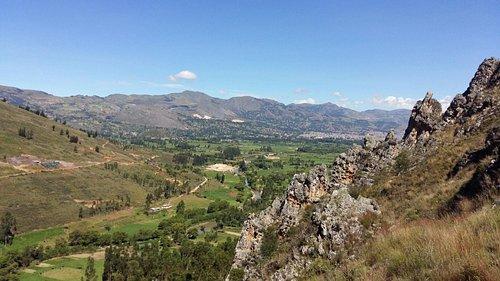 Vista desde Callacpuma